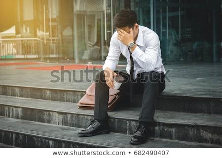 Despairing businessman Stock photo © smithore