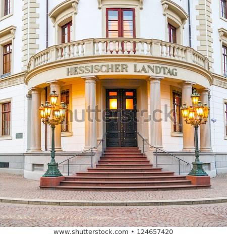 Parliament (Landtag) of Hesse in Wiesbaden  Stock photo © meinzahn