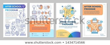 Afterschool Stock photo © vanessavr