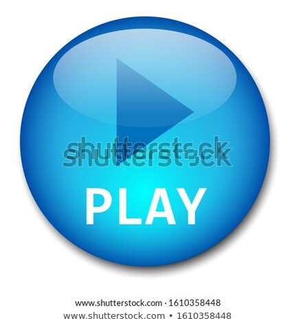 download here blue circular vector button stock photo © rizwanali3d