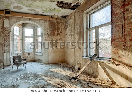 collapsed house abandoned interior Stock photo © sirylok