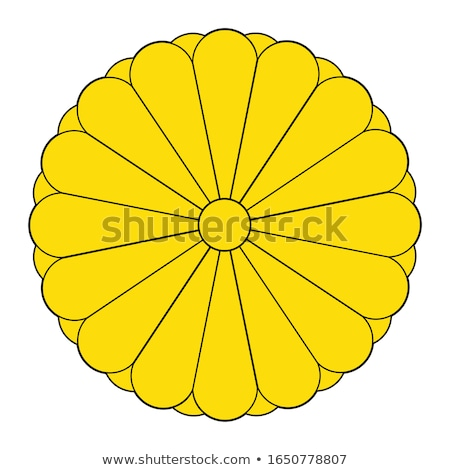 Imperial Seal of Japan Stock photo © Bigalbaloo