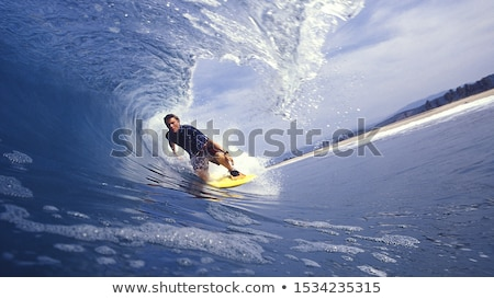 sörf · benim · tutku · güzel · genç · sörfçü - stok fotoğraf © iko