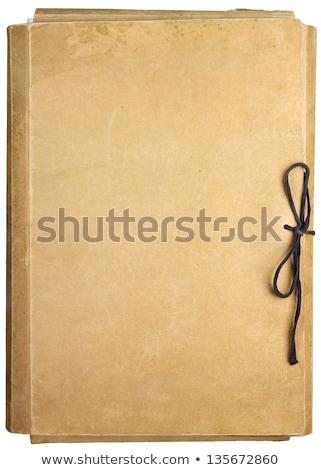 Envelope, document and folder with file. Stock photo © RAStudio