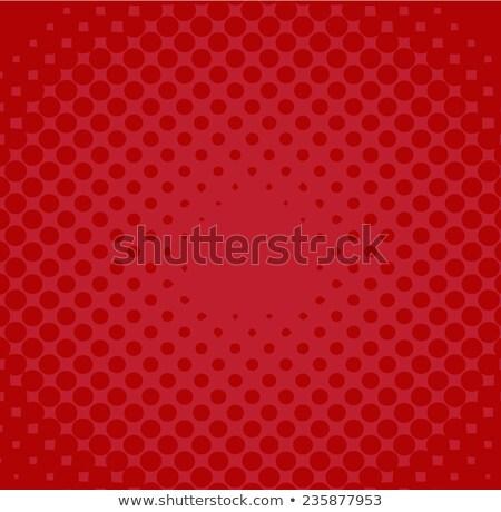 青 赤 ポルカ ハーフトーン サークル レトロな ストックフォト © SArts