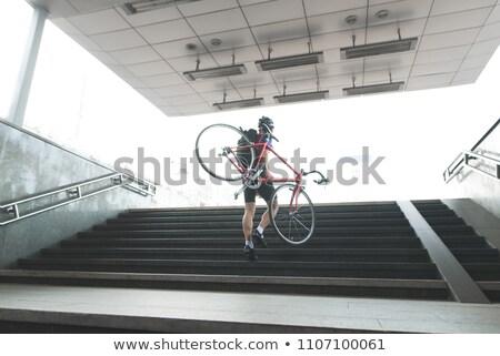 Passi metropolitana metropolitana moderno vuota mistero Foto d'archivio © IS2