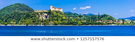 Rocca di Angera on Lago Maggiore Stock photo © LianeM