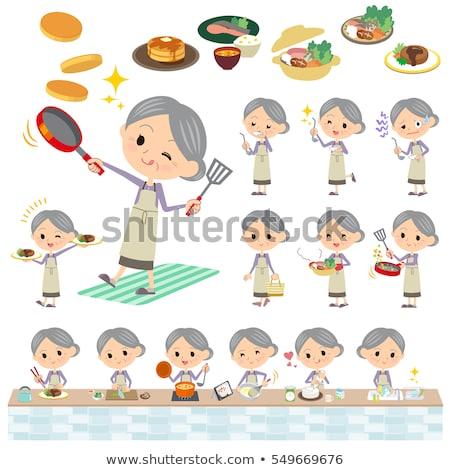 女性 · ホーム · 健康 · 高齢者 - ストックフォト © toyotoyo