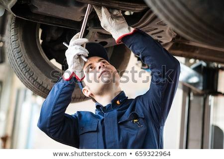 Portrait Of A Car Mechanic Stock photo © AndreyPopov