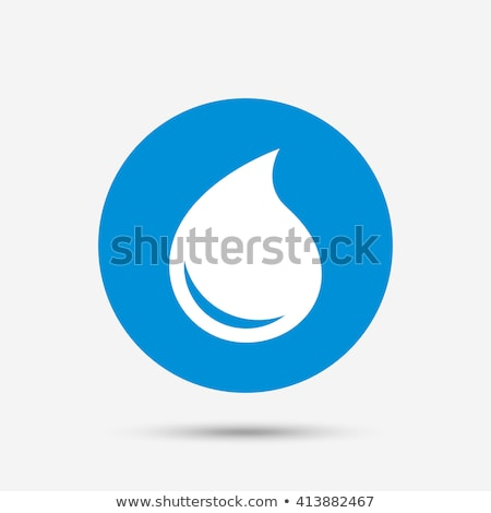 Petroleum Or Oil Drop Icon Flat Design Stock photo © hittoon