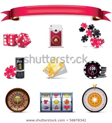 Roulettewheel 2 Stok fotoğraf © tele52