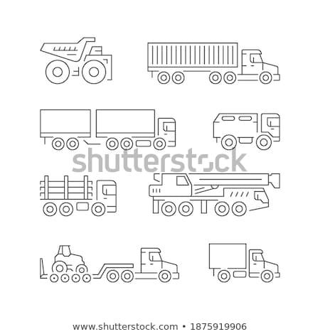 Armée van illustration ciel fond Photo stock © bluering
