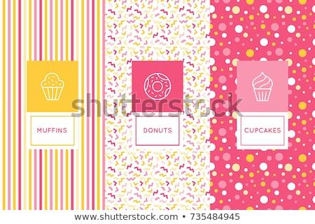 Shopping flat pattern Stock photo © netkov1