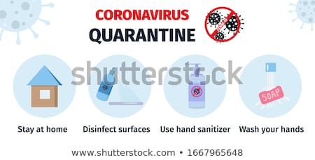 Stop 2019-nCoV Coronavirus Banner Stock photo © -TAlex-