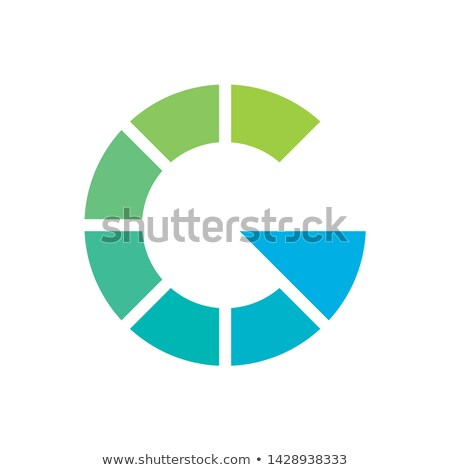 Letter G arrow logo icon design template element. Stock Vector illustration isolated on white backgr Stock photo © kyryloff