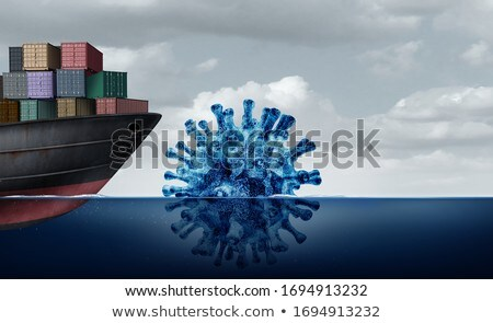 Shipping and Disease challenges Stock photo © Lightsource