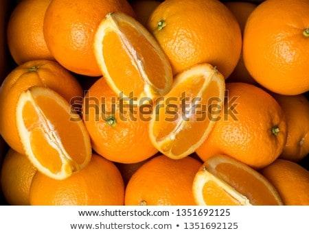 Ombelico arance colorato mercato Foto d'archivio © bobkeenan