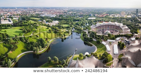 park munich germany stock photo © paha_l