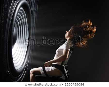 the power of the music stock photo © ajlber