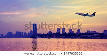nile riverside by night in cairo egypt Stock photo © travelphotography
