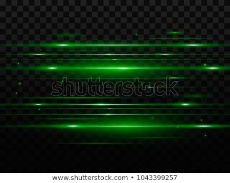 Green Light Beam Background Stock photo © nikdoorg