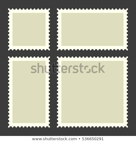 Stock photo: postage stamps collection