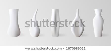 cerâmico · vaso · feito · à · mão · marrom · nada · dentro - foto stock © doupix