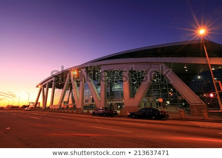 Philips Arena and CNN Center in Atlanta Stock photo © AndreyKr