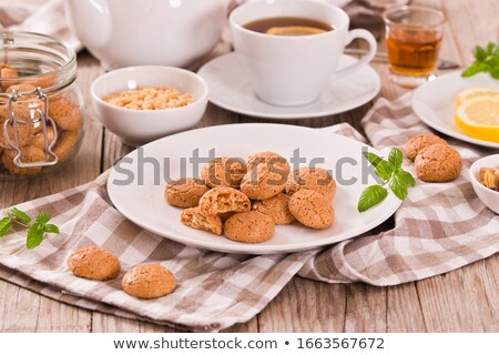 Mint Tea with cookie Stock photo © kbuntu