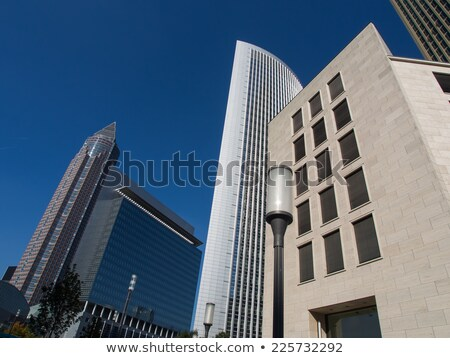 Stock photo: Frankfurt Trade Fair and tower