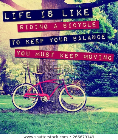 Keep moving on your bike Stock photo © maxmitzu