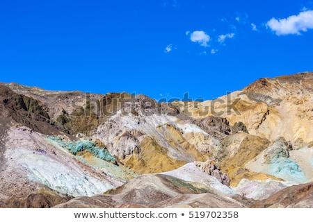artists point along artists drive death valley national park u stock photo © meinzahn