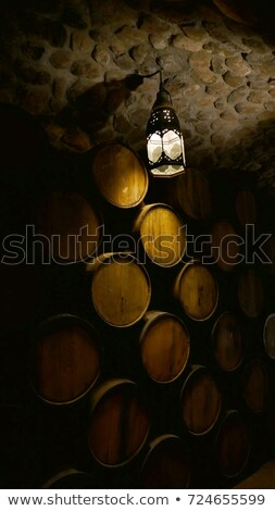 Whiskey rack alcool baril Photo stock © dgilder