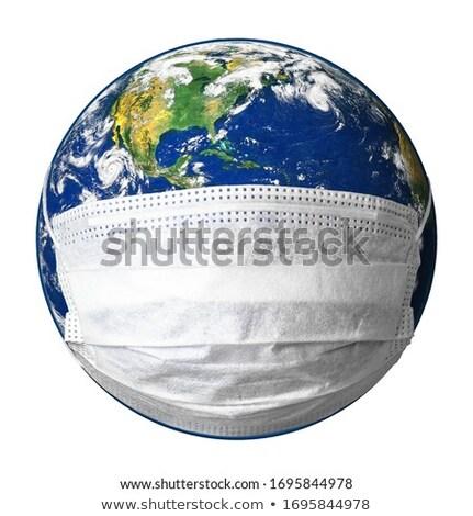 terra · globo · trancar · internet · metal · segurança - foto stock © designers