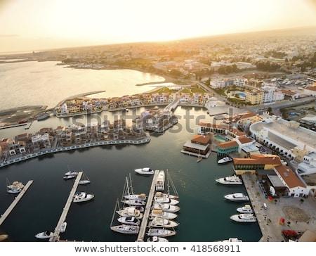 molo · morze · Śródziemne · morza · drewna · charakter · krajobraz - zdjęcia stock © kirill_m
