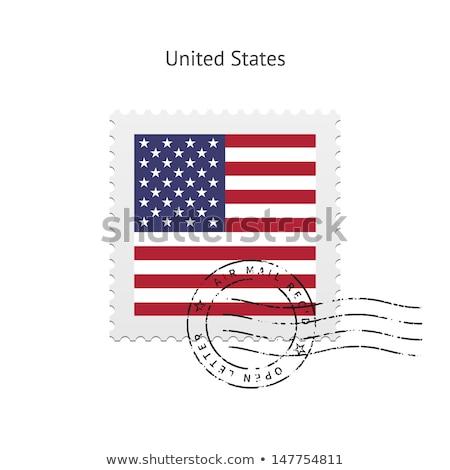 US postage stamps Stock photo © njnightsky
