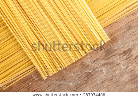 pasta posted on the a row  Stock photo © OleksandrO