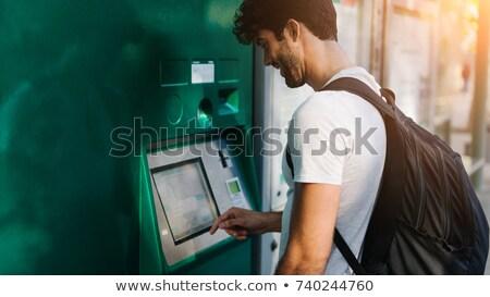 表示 自動販売機 碑文 お金 ストレス ストックフォト © tashatuvango