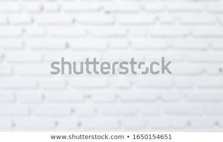 blurred brick wall background stock photo © blumer1979