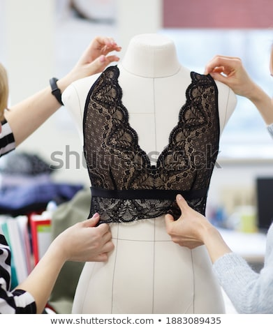 Mannequin in bodice Stock photo © Nneirda