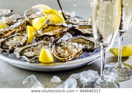 oysters and champagne Stock photo © adrenalina