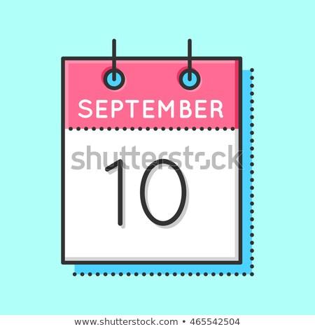 10th September Stock photo © Oakozhan