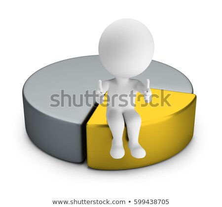 3d small people   best part stock photo © anatolym