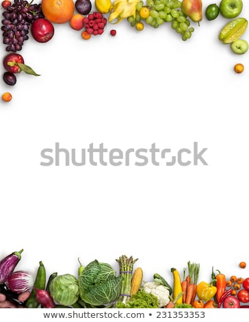 yeşil · sağlıklı · gıda · beyaz · vejetaryen · malzemeler - stok fotoğraf © andreasberheide
