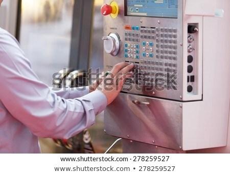 マシン · 男 · 作業 · ビジネス · コンピュータ · 手 - ストックフォト © wellphoto