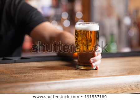 Sizes of Beer Glass Stock photo © bluering