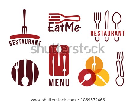 Sausage for Barbecue Vector Badge in Cartoon Style Stock photo © robuart