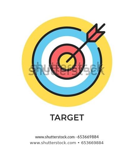 Goals and objectives concept vector illustration. Stock photo © RAStudio