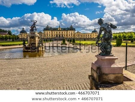 Drottningholm Palace, Stockholm Stock photo © borisb17