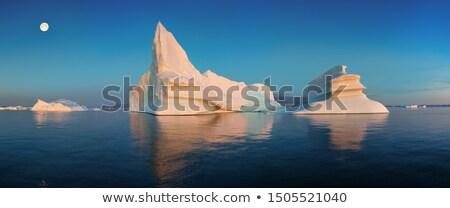 Jég gleccser sarkköri természet tájkép elképesztő Stock fotó © Maridav